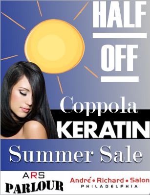Keratin Complex Treatment at Philadelphia's Best Hair Salon