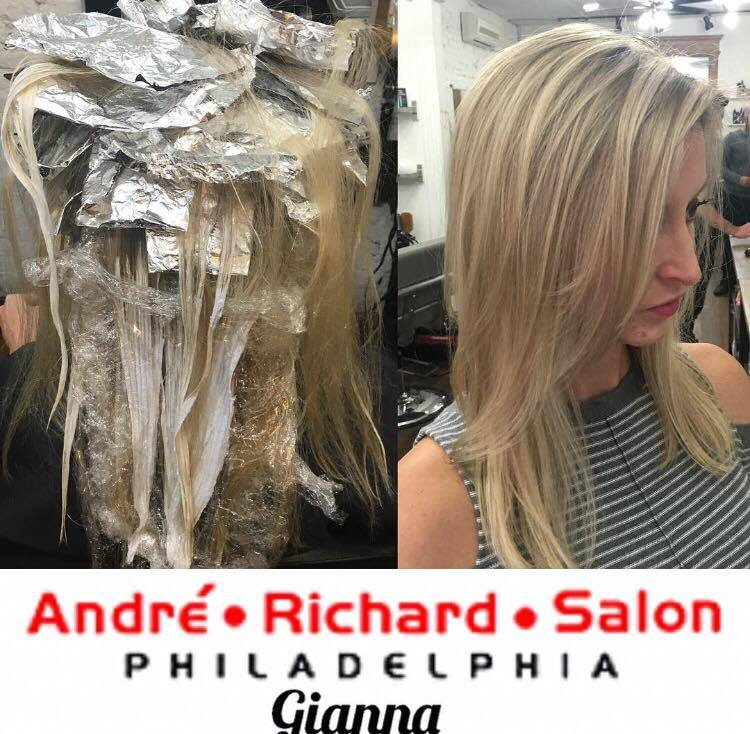 best blonde hair philadelphia
