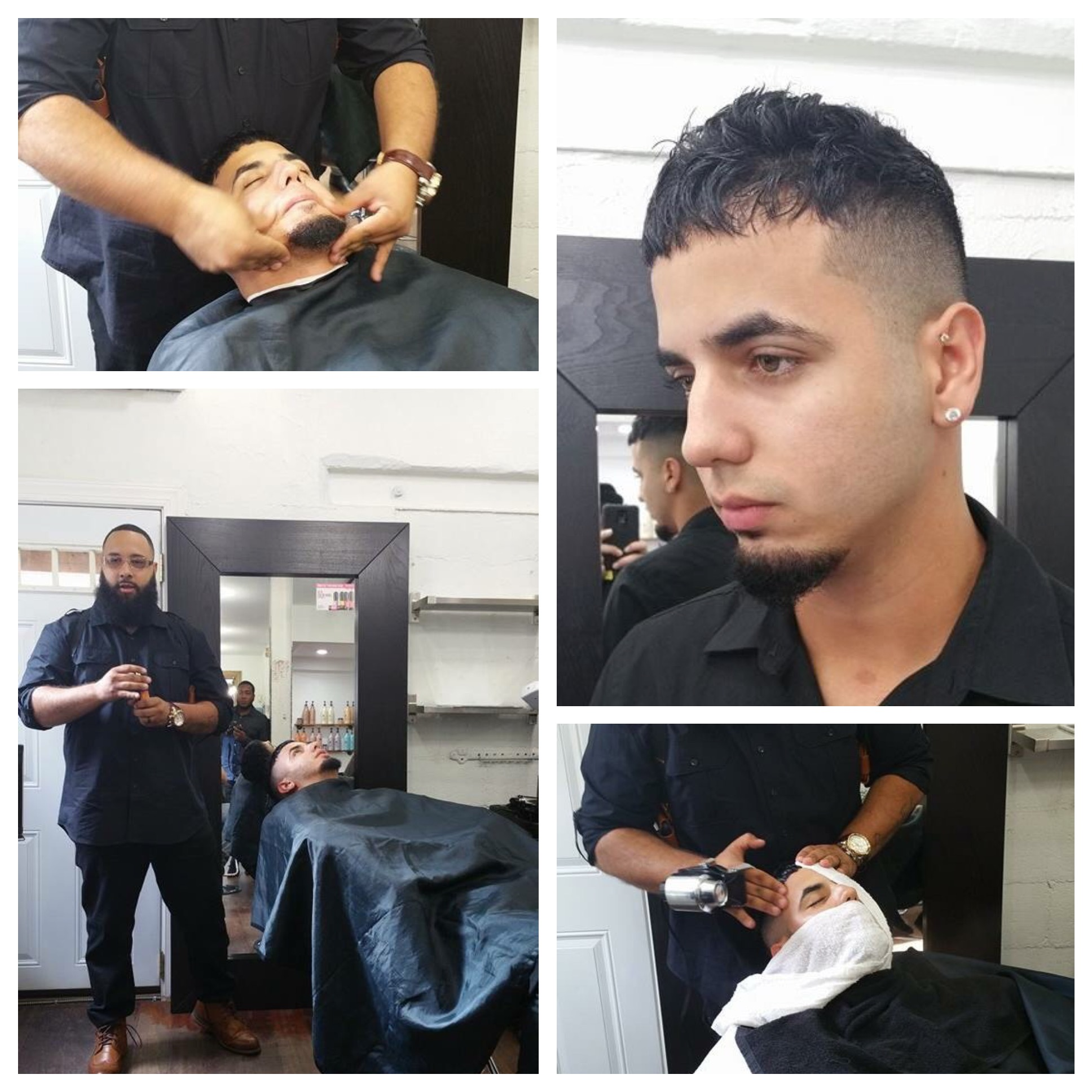 andre richard salon razors edge barbershop philadelphia christian tipton