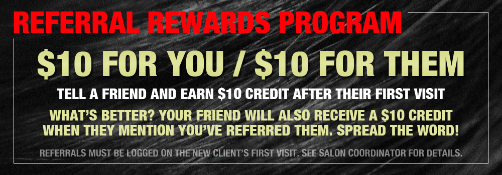 ars referral rewards banner philadelphia andre richard salon