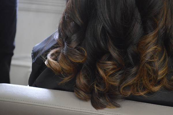 Balayage on dark hair best hair salon in Philadelphia