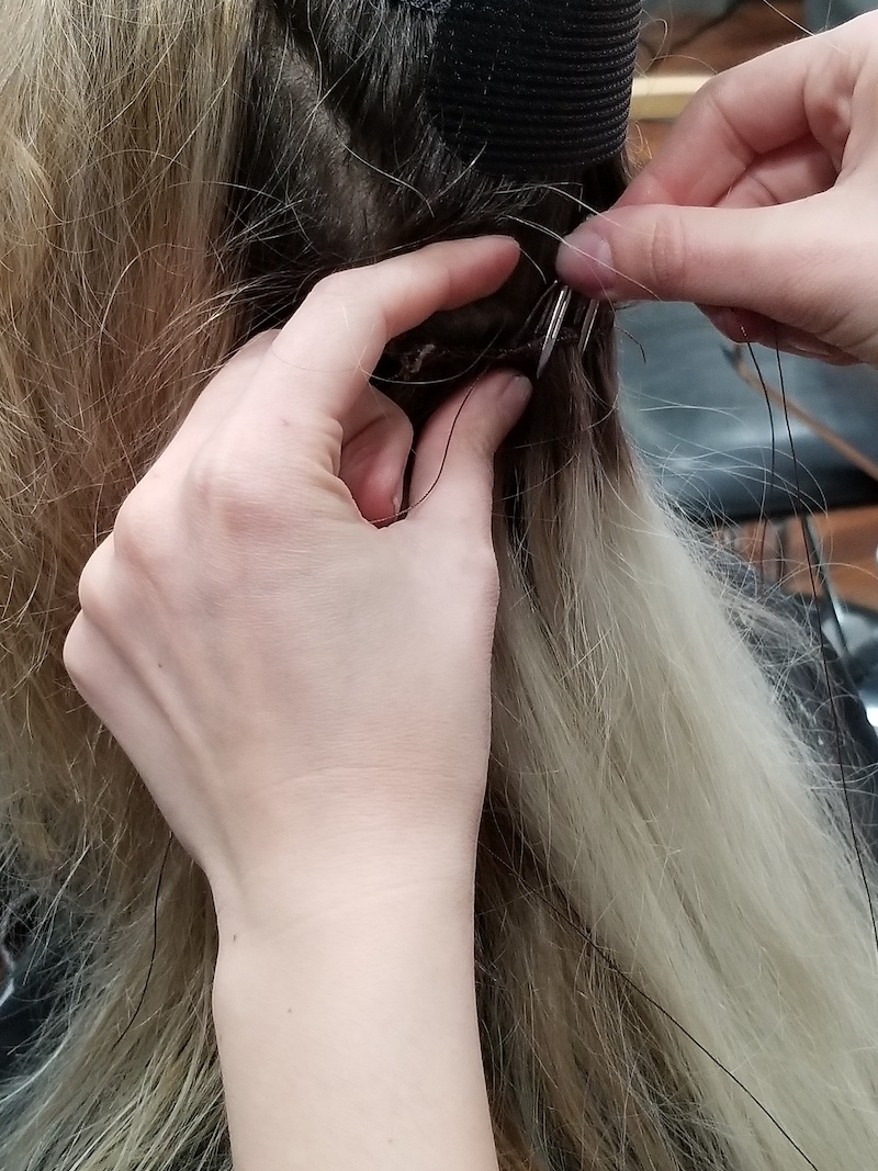 Hand Tied Hair Extentions