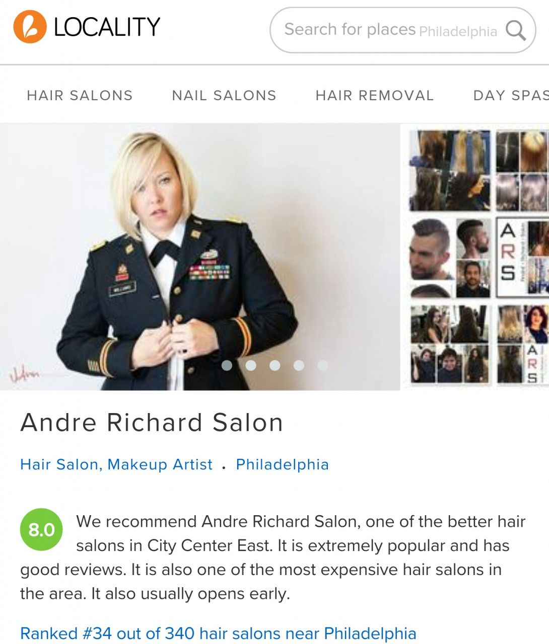 andré richard salon philadelphia, pa