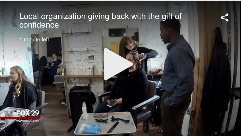 Organization giving the gift of confidence with makeovers