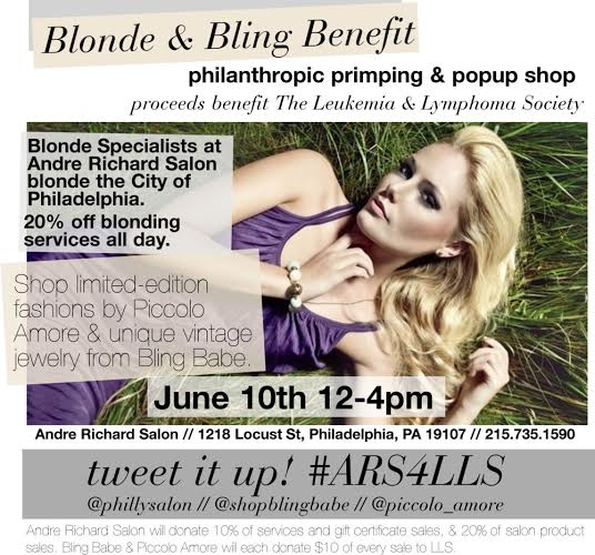 Blonde & Bling Benefit
