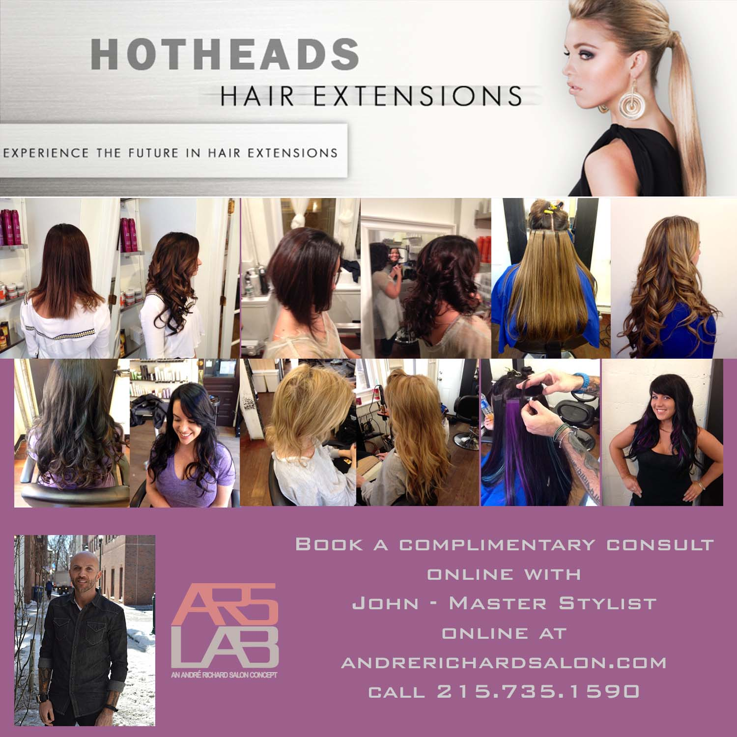 Hair Extensions Andre Richard Salon